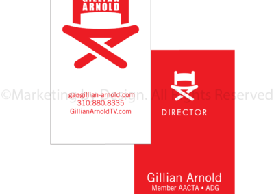 Marketing by Design   Gillian Arnold Business Cards