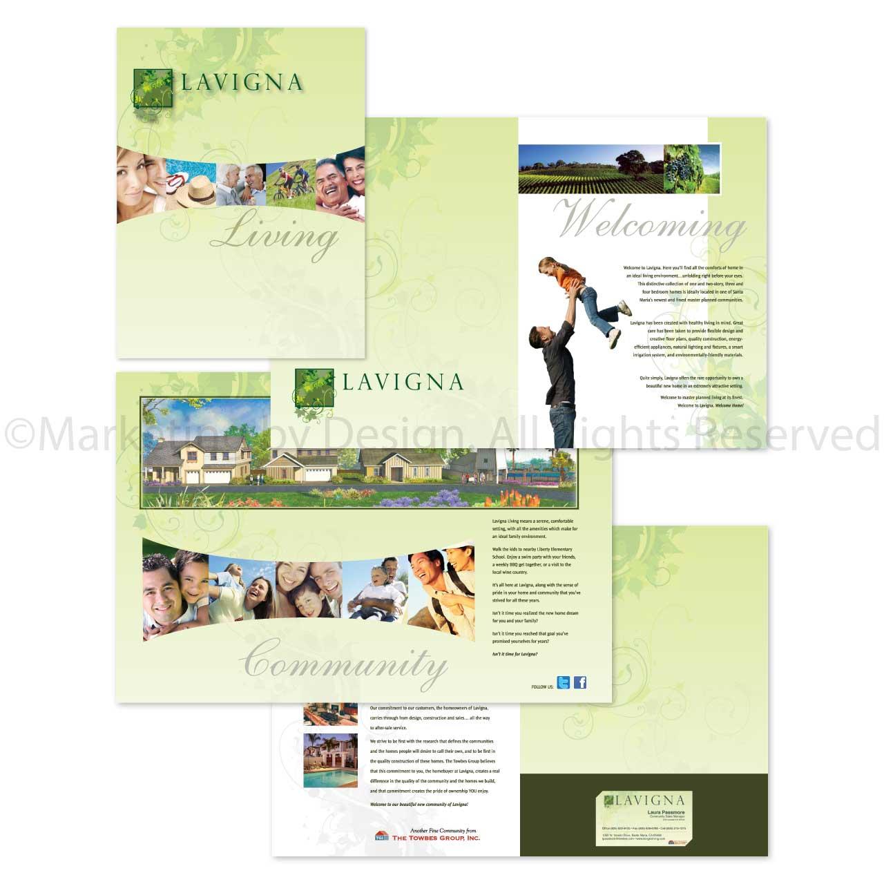 Marketing by Design | Lavigna Brochure
