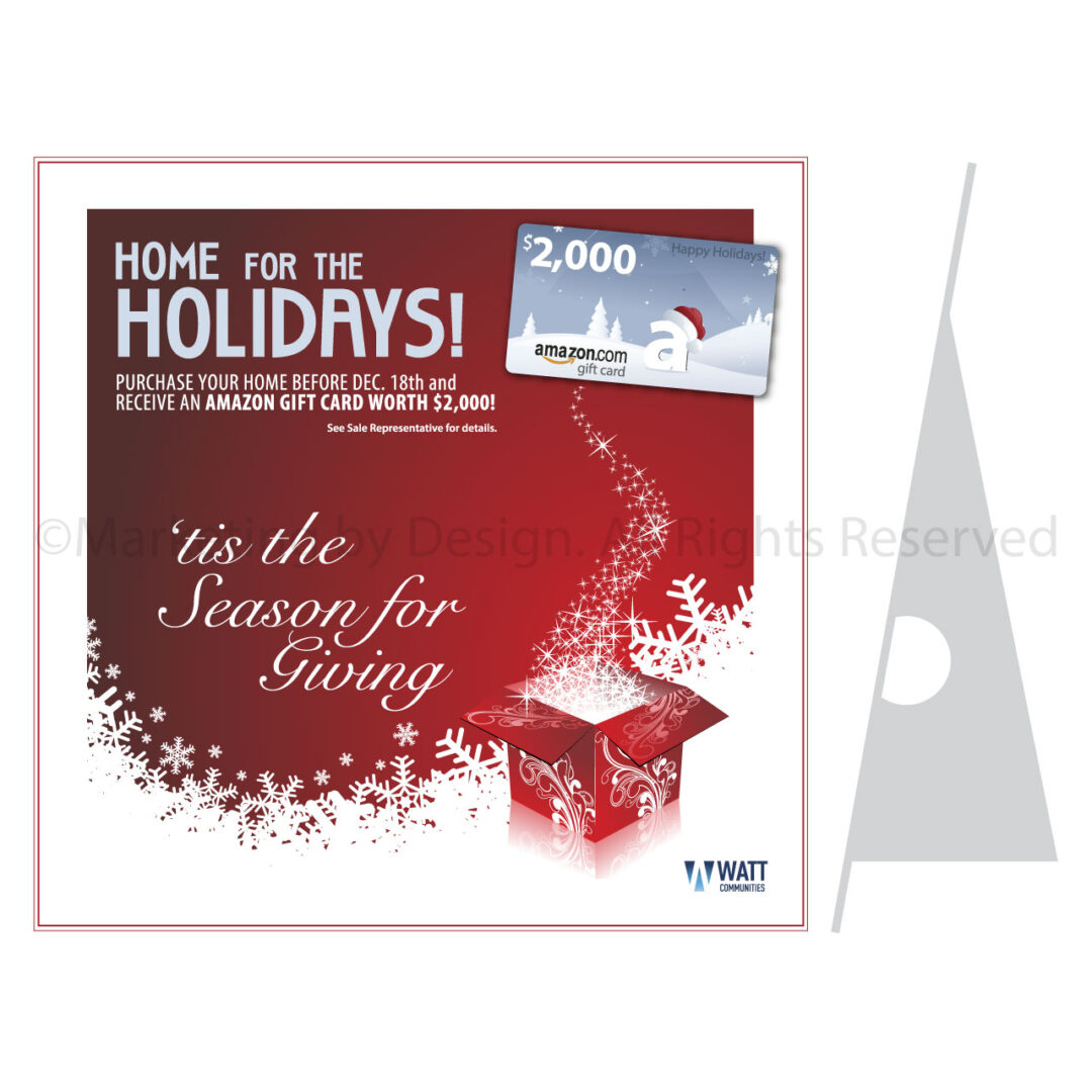 Holiday Sales Office Display
