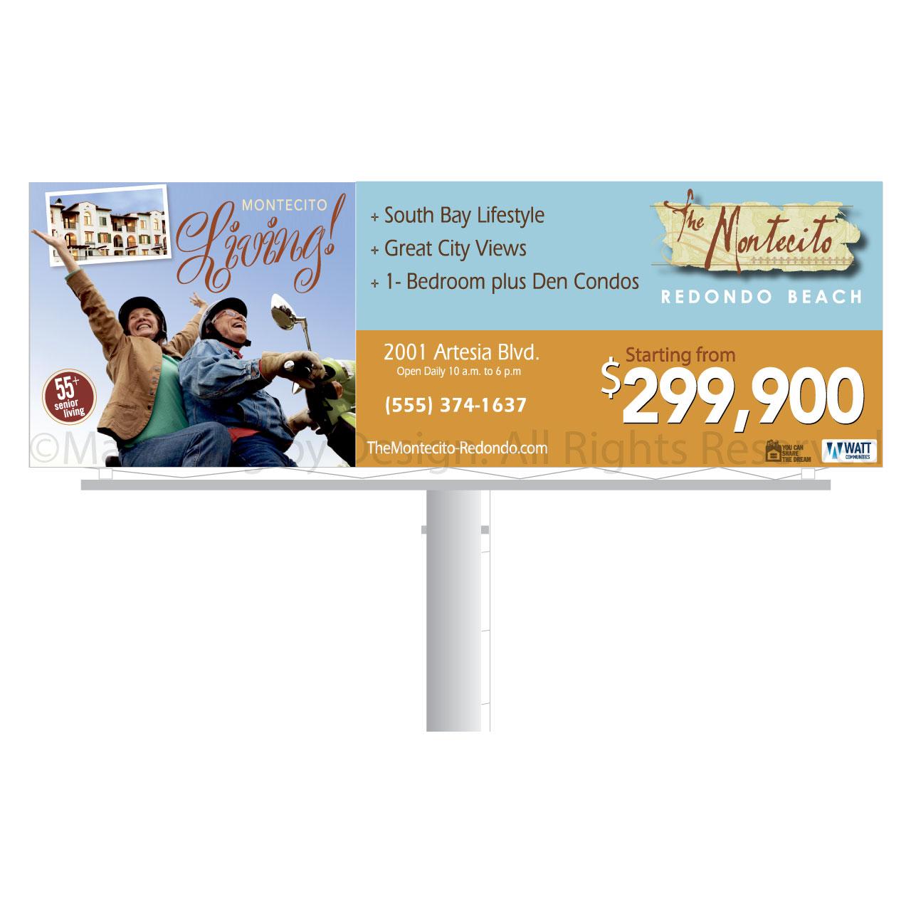 Marketing by Design   Portfolio: Montecito Billboard