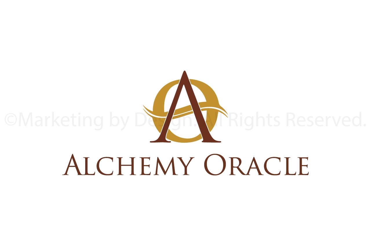 Marketing by Design | Portfolio: Alchemy Oracle Logo