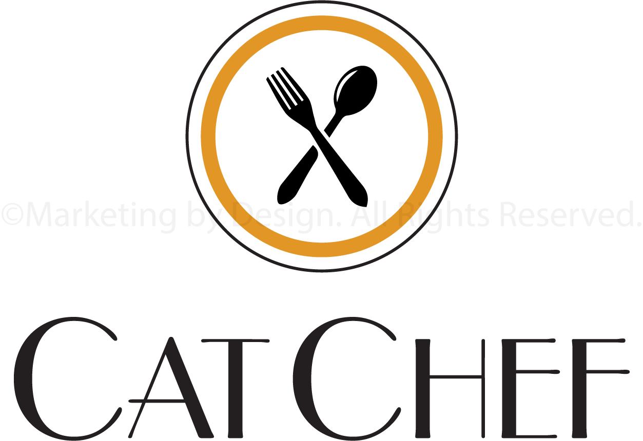 Marketing by Design   Portfolio: Cat Chef Logo