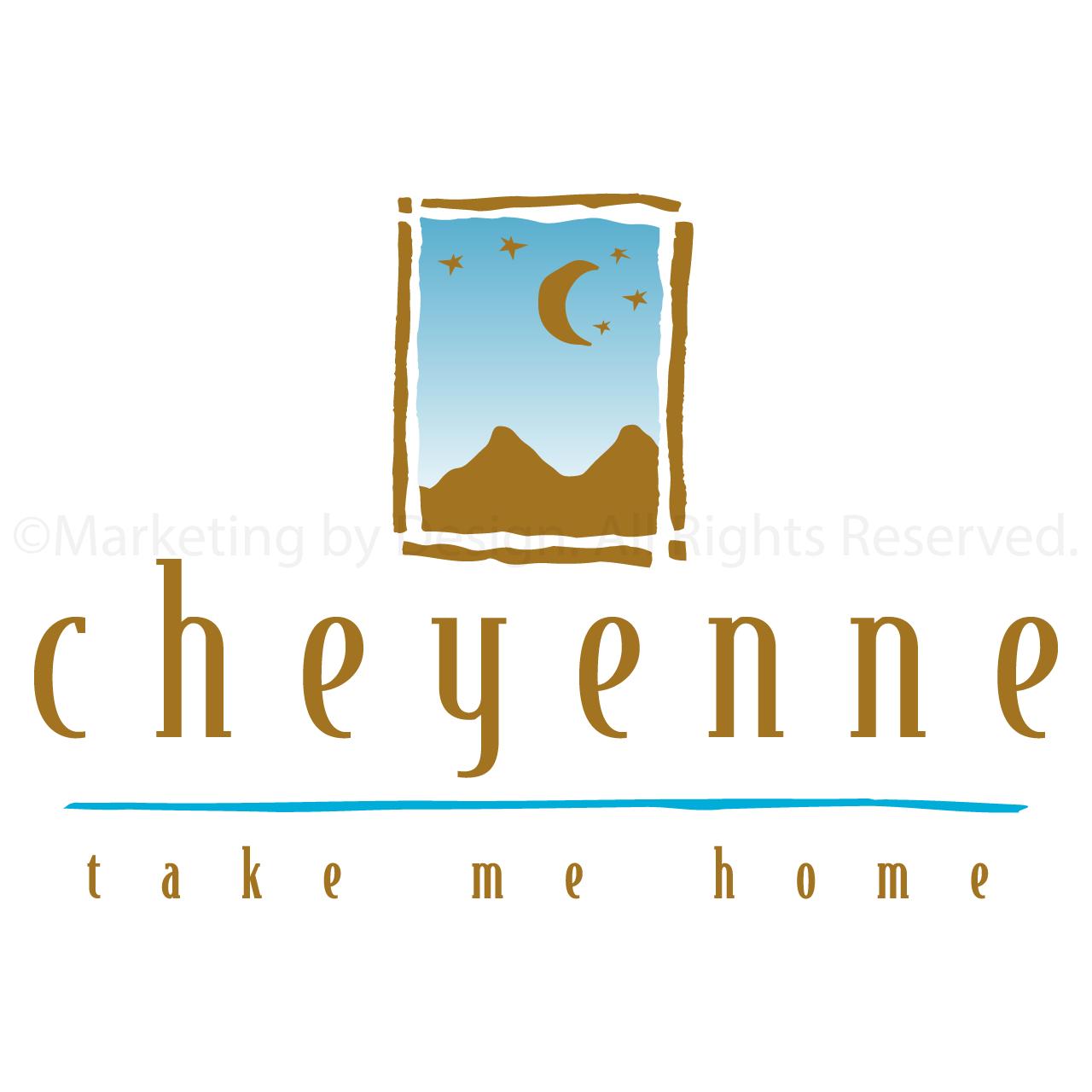 Marketing by Design | Portfolio: Cheyenne Logo