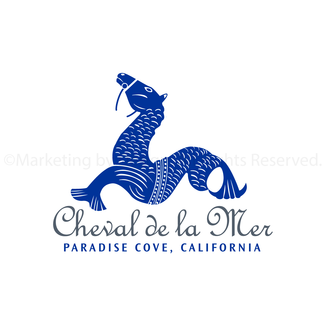Marketing by Design | Portfolio: Cheval de la Mer Logo