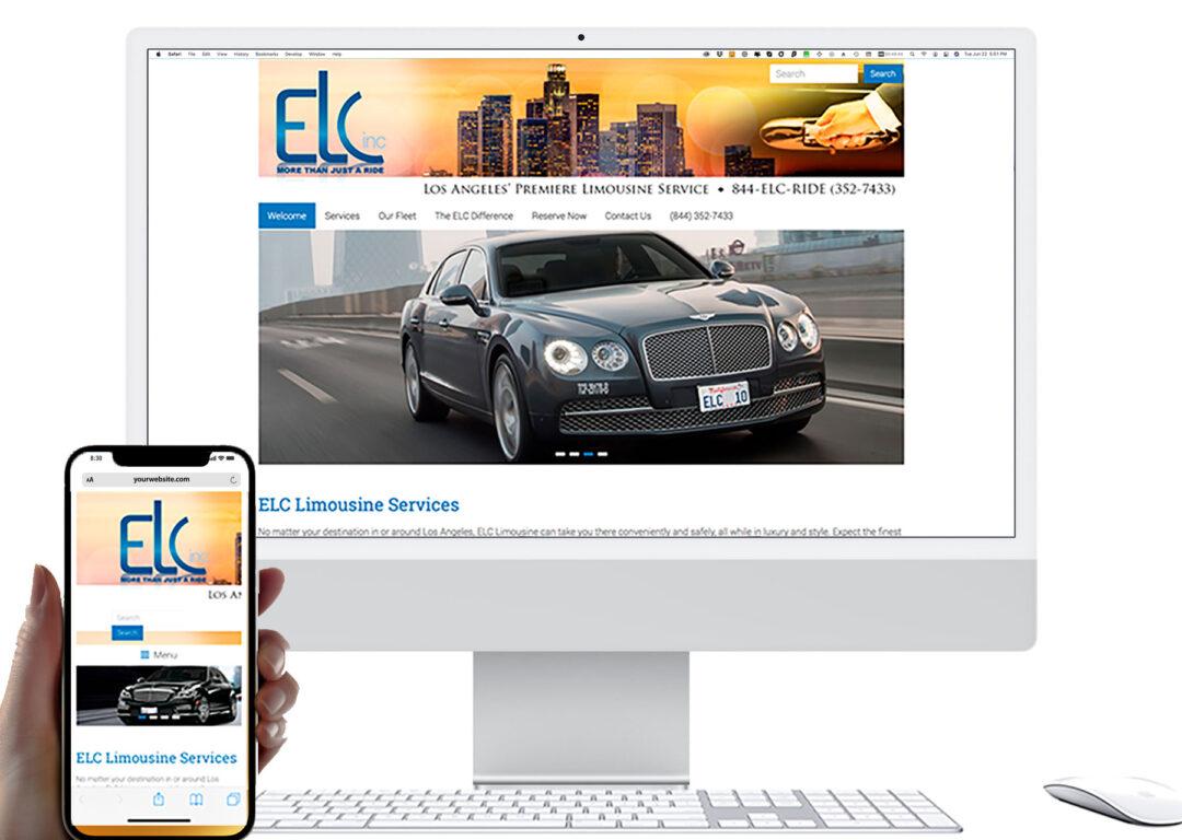 ELC Limousines Website