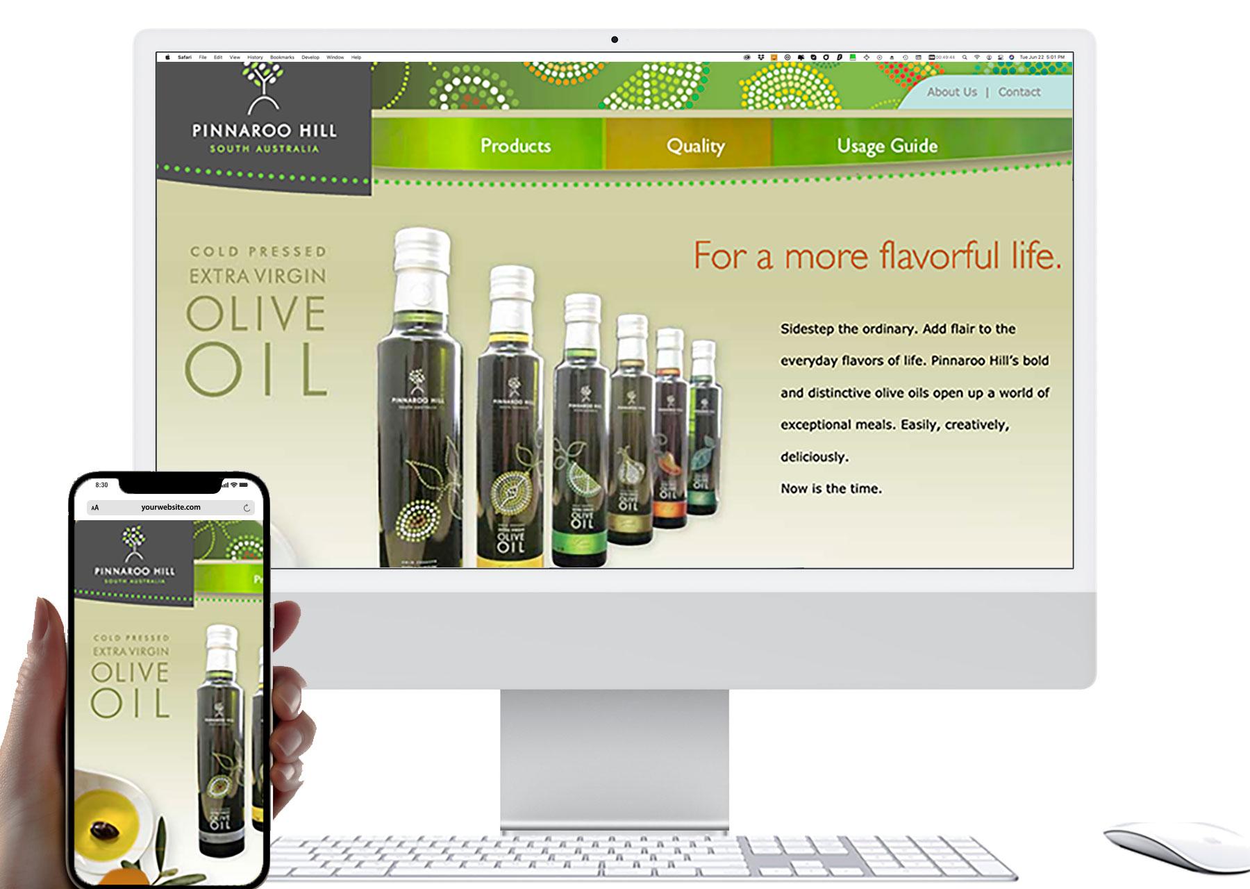 Marketing by Design | Portfolio: Pinnaroo Hill Website
